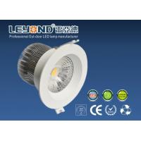 Wholesale Interior Lighting Round COB Led Downlights 15W White Housing For Bed Room Lighting 3000K from china suppliers