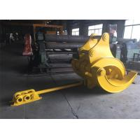 Wholesale Mechanical Big Excavator Grapple For Komatsu PC340 and PC450 Heavy Duty from china suppliers