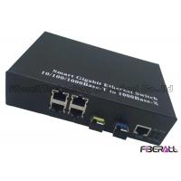 Wholesale 10/100/1000Base-T Fiber Ethernet Switch For Looped Network With 2 SFP 4 LAN Ports from china suppliers