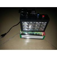 Wholesale 12PCS 3w RGB Three Colors LED Strobe Stage Light Sound Control Black / White Case from china suppliers