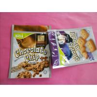 Wholesale OEM Stand Up Zipper Cookies / Snack Bag Packaging with Zip Top from china suppliers