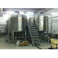 Wholesale Custom Durable Large Stainless Steel Mixing Tank 1000L for Wine or Beer Liquid Storage from china suppliers