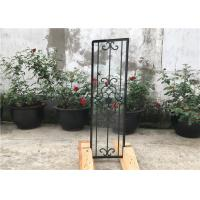 Wholesale Square Top Eyebrow Wrought Iron Glass Galvanized Steel Anti Rusting from china suppliers