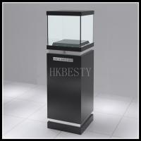 Buy cheap sun glasses pedestal Display Case with Glass Top from wholesalers