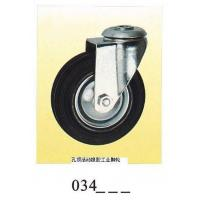 Buy cheap Industrial Caster rubber caster top hole 034 from wholesalers
