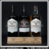 Wholesale Ledpos Wooden Teeling Three Bottle Glorifier from china suppliers