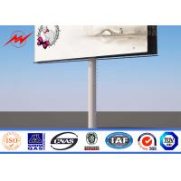 Wholesale Waterproof Outdoor Billboard Advertising , Road LED Screen Billboard  DIP 346 from china suppliers