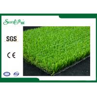 Buy cheap PE Material Green Artificial Lawn Grass 5500Dtex Natural Looking from wholesalers