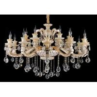 Wholesale Graceful 18 Light Crystal Chandelier For Coffee Shops / Dining Room Chandeliers from china suppliers