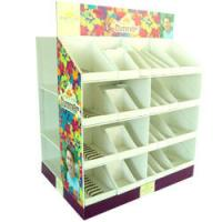 Wholesale Eco - friendly Floor Corrugated Display Stands For Greeting Card from china suppliers