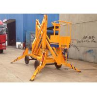Wholesale High Strength Mobile Hydraulic Lift Platform Crank Compact For Workshops from china suppliers