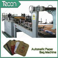 Wholesale 3 Kraft Paper 1 PP Film 20KG Ceramic Adhesive Paper Bag Making Machine Driven By Schneider Electric Motor from china suppliers