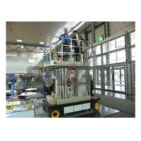 Wholesale 12m Stable Vertical Aluminum Work Platform For Continuous Aerial Working from china suppliers