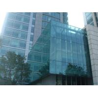 Wholesale Dark Grey Building Curtain Wall Panels / Glazing Curtain Wall Insulation from china suppliers