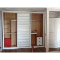 Wholesale Decorative Four Door Bedroom Sliding Wardrobes Traditional , Sliding Door Closet from china suppliers