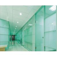 Wholesale Solid Flat Tempered Glass Clear Float For Indoor Partition , Decorative Glass Door Panels from china suppliers