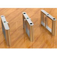 Buy cheap Rs Automation Card Reader Optical Turnstile Access Control System As Station Gate from wholesalers