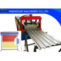 Wholesale 18.5kw Power Stell Door Shelf Panel Roll Forming Machinery 1250mm Coil Width from china suppliers