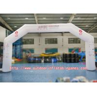 Wholesale Durable Half Round Inflatable Sport Arch With High Tensile Strength from china suppliers