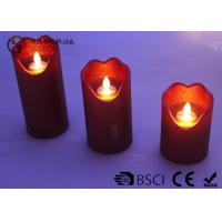 Wholesale Energy Saving Dancing Flame Led Candle With Moving Wick 210 / 280 / 320g from china suppliers