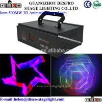Wholesale Full Color 3D Animation Stage Laser Light  Professional  Stage Lighting from china suppliers