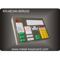 Wholesale 80 Keys Mechanical Keyboard With Metal Panel For Transportation Area from china suppliers