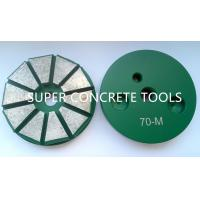 Wholesale 10 Seg 3″ Polar Magnetic System Metal Bond Diamond Grinding Floor Surface Prep Pucks Tools from china suppliers