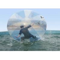 Wholesale Big Transparent PVC Inflatable Water Walking Ball For Playing Center , Lake from china suppliers