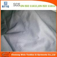 Quality Xinxiang YSETEX EN11612 200gsm grey color flame retardant fabric for sale