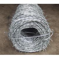 Buy cheap Electric Galvanized Barbed wire BWG13 from wholesalers