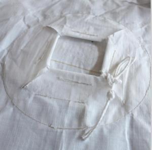Quality 1 Tonne Circular FIBC Big Bag Sack With Stevedore Straps 100% Virgin Polypropylene for sale