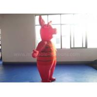 Wholesale 8ft Waterproof Inflatable Man Costume , Moving Red Inflatable Pig Mascot Costume from china suppliers