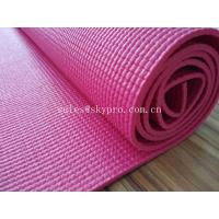 Customized 3mm Thick Pink EVA Foam Sheet with Embroidery , Laser Engraving