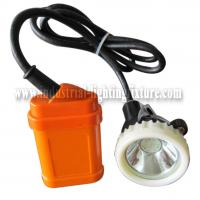 Wholesale LED Rechargeable Miners Cap Lamp 1 Watt 4500Lux With 6 Pcs SMD Led KJ3.5LM from china suppliers