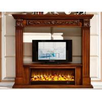 Wholesale Energy Efficient Luxury Decoration Solid Wood Fireplaces With Mantel from china suppliers