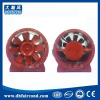 Quality DHF HTF fire protection ventilation fans Fire-fighting smoke exhaust axial flow fan with high temperature for sale