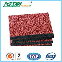 Wholesale Athletic Synthetic Rubber Flooring Running Track Field Permeable 1.56 Tensile Strength from china suppliers