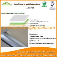 Wholesale Aluminum foil laminated kraft paper with fiberglass scrim reinforced from china suppliers