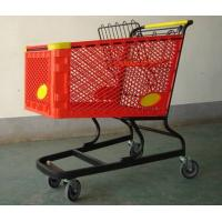 Wholesale Virgin PP Unfolding Shopping Basket Trolley American Style Retail Carts180L from china suppliers