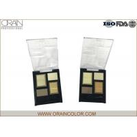 Wholesale Generous Customized Four Color Makeup Eyeshadow Palette Easy Coloring from china suppliers