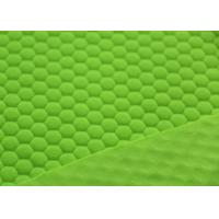 Wholesale Warm Green Polka Dot Fleece Fabric / Cloth 3.5-4.5 Color Fastness from china suppliers