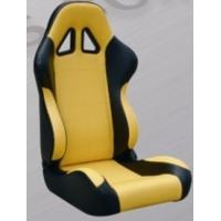 Wholesale Comfortable Black And Yellow Racing Seats , Custom Racing Seats For Cars from china suppliers