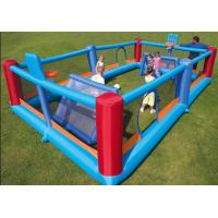 Wholesale The 18oz PVC Inflatable Sports Games Football Beach Volleyball Field With Kids from china suppliers