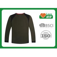 Wholesale Outside Breathable Quick Dry Shirts Long Sleeve For Running / Hunting from china suppliers