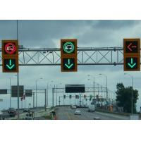 Wholesale Waterproof Traffic Led Signs , Overhead Lane Signals Adapt Different Weather from china suppliers