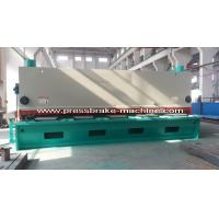 Wholesale Motorized Hydraulic Guillotine Shear , Hydraulic Sheet Metal Shear from china suppliers