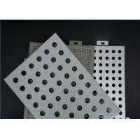Wholesale Easy Installation Perforated Aluminum Panels Good Plasticity Perforated Aluminum Plate from china suppliers