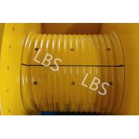 Buy cheap 20KN 30KN 50KN Hydraulic Winch Drum With Rope Groove Lebus Sleeves from wholesalers