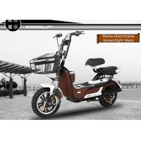Wholesale Electric Pedal Moped Street Bike , Electric Scooter With Seat For Adults from china suppliers