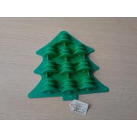 Wholesale Christmas Tree Silicone Chocolate Mould , Flexible Microwave Pudding Candy Mold from china suppliers